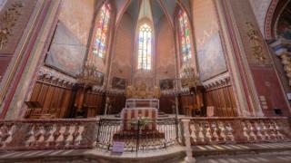 サン・ミッシェル教会のパノラマビュー/フランス