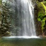 百尋の滝のパノラマビュー