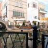 名古屋港イタリア村 ゴンドラが行き交う運河のパノラマビュー