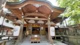 竹島神社のパノラマビューと雨雲レーダー/愛知県蒲郡