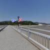 竹島橋中央のパノラマビュー