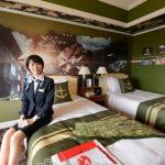 ガンダムファンにおすすめ!ホテルグランパシフィック「ガンダムルーム」のパノラマビュー