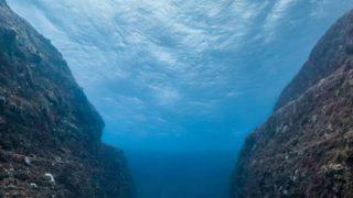 与那国島海底地形ストリートビュー2と雨雲レーダー/沖縄県与那国町