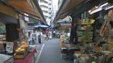 築地場外市場のストリートビューと雨雲レーダー/東京都中央区