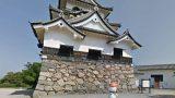 彦根城のストリートビューと雨雲レーダー/滋賀県彦根市