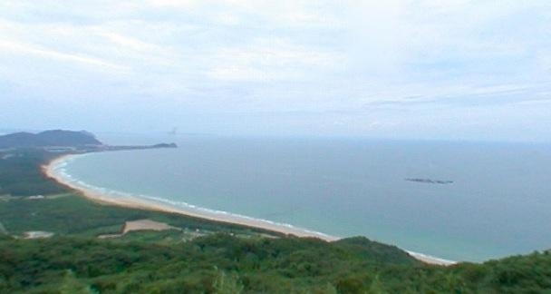 幣の浜(にぎのはま)パノラマビュー