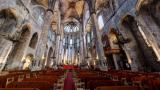 サンタ・マリア・ダル・マル教会のパノラマビュー/スペイン・バルセロナ