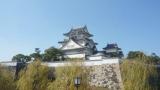 岸和田城パノラマビューと雨雲レーダー/大阪府岸和田市