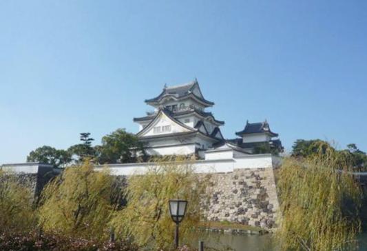 岸和田城パノラマビュー