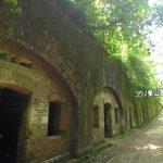 天空の城ラピュタを思わせる『友ヶ島・第3砲台跡』パノラマビュー