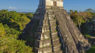 マヤのピラミッド「ティカル」パノラマビュー/グアテマラ