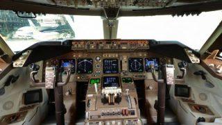 退役間近!ANAのジャンボ機の隅々まで見えるパノラマビューと雨雲レーダー