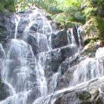 白糸の滝のパノラマビュー
