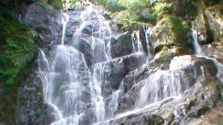 白糸の滝のパノラマビューと雨雲レーダー/福岡県糸島市