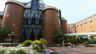 ロイヤルオークホテル スパ&ガーデンズのパノラマビューと雨雲レーダー/滋賀県大津市
