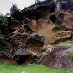 虫食い岩パノラマビュー