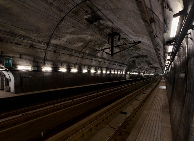 鉄道ファン必見!青函トンネル「竜飛海底駅」のパノラマビュー