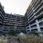 軍艦島65号棟・報国寮のパノラマビュー