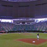 西武ラインズファン必見!埼玉県所沢市):西武ドームのストリートビュー