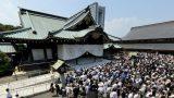 靖国神社のパノラマビューと雨雲レーダー/東京都千代田区