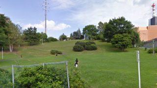 水曜どうでしょう 前枠・後枠を撮影してる公園のストリートビューと雨雲レーダー