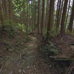 熊野参詣道(熊野古道)滝尻王子-継桜王子のストリートビュー