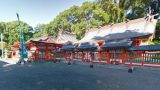 熊野参詣道(熊野古道)熊野速玉大社のストリートビューと雨雲レーダー/世界遺産