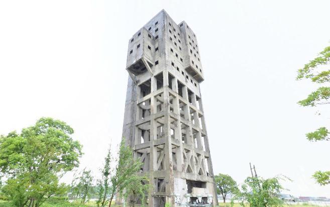 竪坑櫓[外観]のパノラマビュー