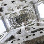 竪坑櫓[内観]のパノラマビュー