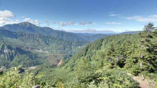大自然を満喫できる富山県 立山カルデラ展望台のストリートビューと雨雲レーダー