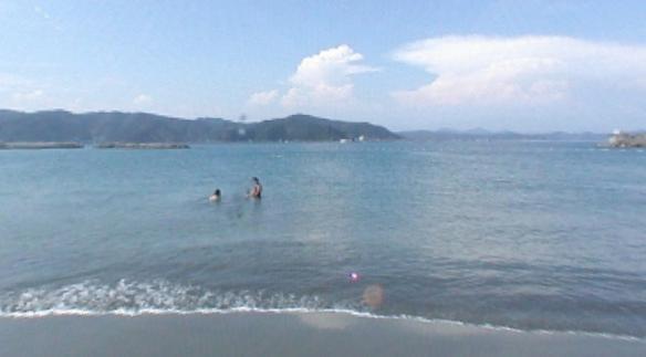 ドラゴンビーチ(竜の浜)のパノラマビュー