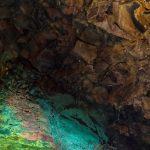 スリーヌカギガル火山の内部パノラマビュー