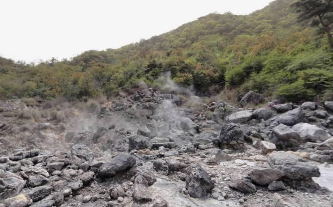 雲仙地獄パノラマビュー