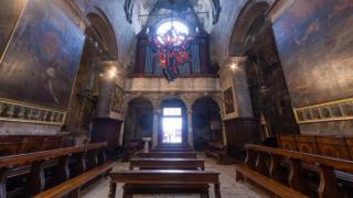 大聖堂のパノラマビュー/クロアチア・トロギール