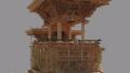 太郎焼総本舗内のパノラマビューと雨雲レーダー/福島県会津若松市