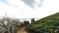 リニア500キロ試験走行出発式のパノラマビューと雨雲レーダー/山梨県上野原市