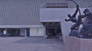 祝!世界文化遺産決定!国立西洋美術館のストリートビューと雨雲レーダー/東京都台東区