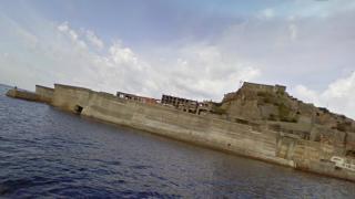 廃墟好きにおすすめ!軍艦島[端島]のストリートビューと雨雲レーダー