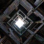 廃墟好きにおすすめ!日本最古の鉄筋コンクリート造アパート 軍艦島 30号棟(グラバーハウス)のパノラマビュー