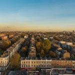 ロンドンの町並みパノラマビュー