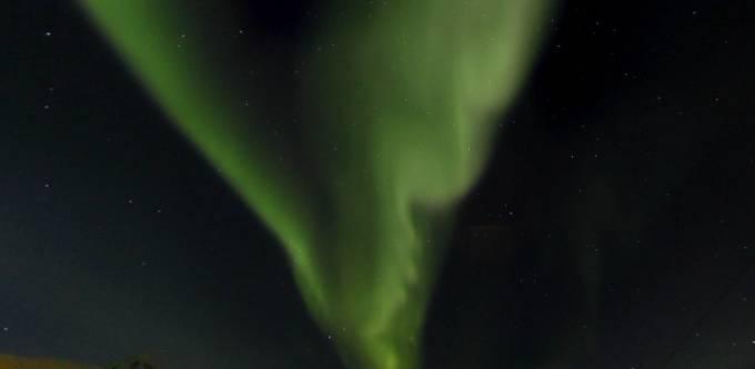 ナルビクの極夜のオーロラがみれるパノラマビュー/ノルウェー