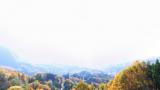 大望峠展望台のパノラマビューと雨雲レーダー/長野県長野市