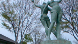 菊陽杉並木公園さんさんのパノラマビューと雨雲レーダー/熊本県菊陽町