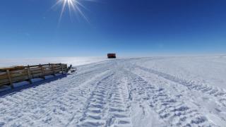 昭和基地付近のパノラマビュー/南極