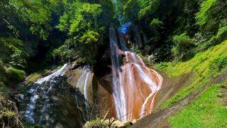 草津温泉 嫗仙の滝 がみえるパノラマビューと雨雲レーダー/群馬県草津町