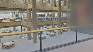 国立図書館ストリートビューと雨雲レーダー/東京都千代田区