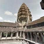神秘的!カンボジアのアンコールワットストリートビュー