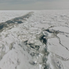 網走湾砕氷船上からの流氷ストリートビュー